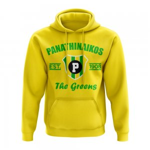 Panathanikos Established Hoody (Yellow)