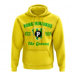 Panathanikos Established Hoody (Yellow)