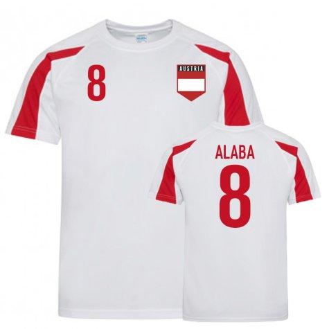 Austria Sports Training Jersey (Alaba 8)