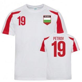 Bulgaria Sports Training Jersey (Petrov 19)