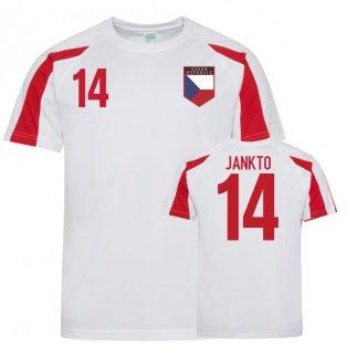 Czech Republic Sports Training Jersey (Jankto 14)
