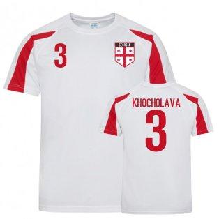 Georgia Sports Training Jersey (Khocholava 3)