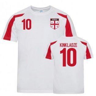Georgia Sports Training Jersey (Kinkladze 10)