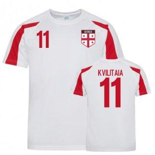 Georgia Sports Training Jersey (Kvilitaia 11)