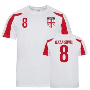 Georgia Sports Training Jersey (Qazaishvili 8)