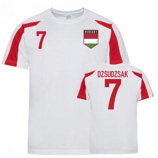 Hungary Sports Training Jersey (Dzsudzsak 7)