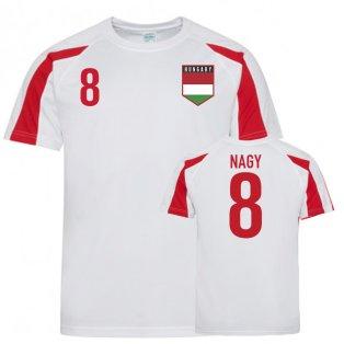 Hungary Sports Training Jersey (Nagy 8)