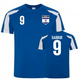 Israel Sports Training Jersey (Dabbur 9)