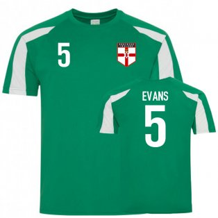 Northern Ireland Sports Training Jersey (Evans 5)