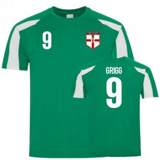 Northern Ireland Sports Training Jersey (Grigg 9)