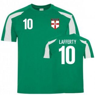 Northern Ireland Sports Training Jersey (Lafferty 10)