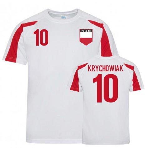 Poland Sports Training Jerseys (Krychowiak 10)