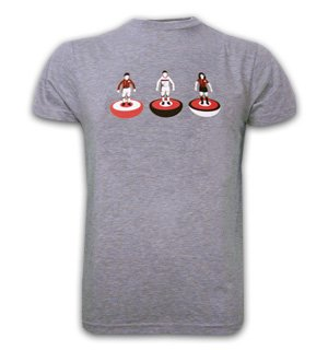 Mens Subbuteo Basic T and Grey 100% cotton