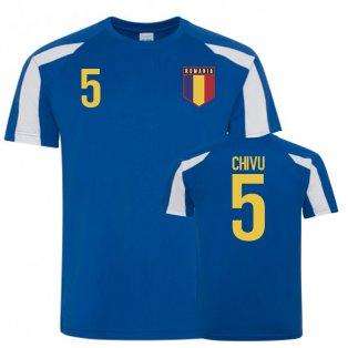 Romania Sports Training Jerseys (Chivu 5)