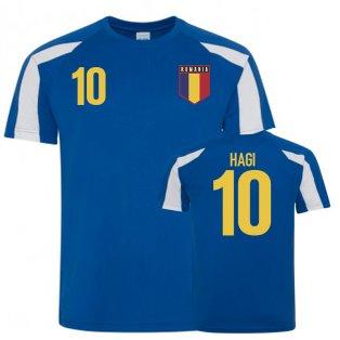 Romania Sports Training Jerseys (Hagi 10)