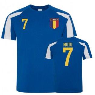 Romania Sports Training Jerseys (Mutu 7)
