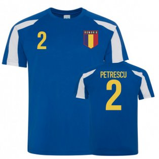Romania Sports Training Jerseys (Petrescu 2)