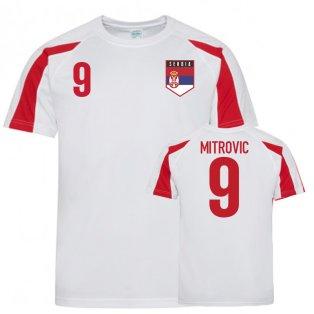 Serbia Sports Training Jerseys (Mitrovic 9)