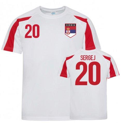 Serbia Sports Training Jerseys (Sergej 20)