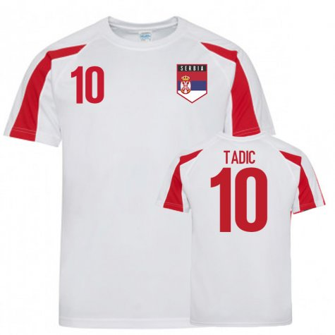 Serbia Sports Training Jerseys (Tadic 10)