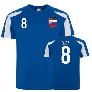 Slovakia Sports Training Jerseys (Duda 8)