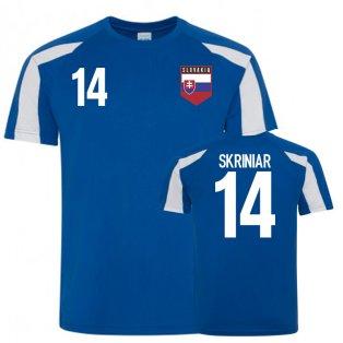 Slovakia Sports Training Jerseys (Skriniar 14)
