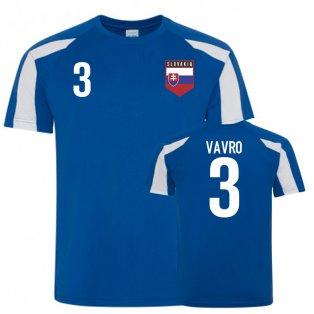 Slovakia Sports Training Jerseys (Vavro 3)