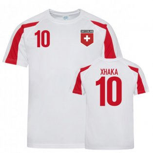 Switzerland Sports Training Jerseys (Xhaka 10)