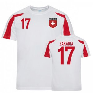 Switzerland Sports Training Jerseys (Zakaria 17)