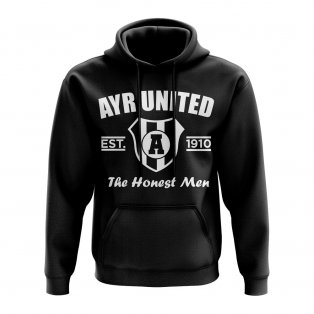 Ayr United Established Hoody (Black)