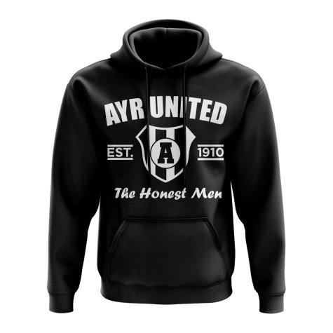 Ayr United Established Hoody (Black)