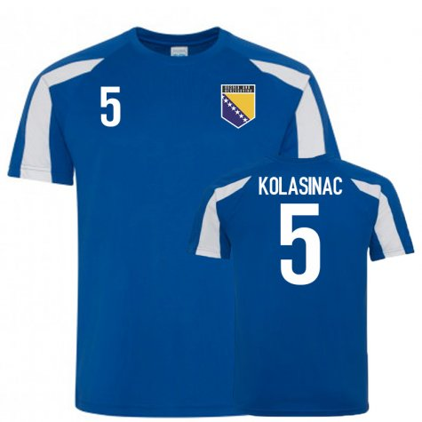 Bosnia and Herzegovina Sports Training Jerseys (Kolasinac 5)