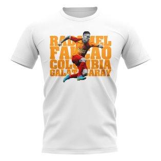 Falcao Galarasaray Player T-Shirt Galatasaray (White)