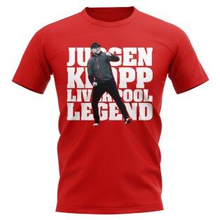 Jurgen Klopp Liverpool Legend T-Shirt (Red)