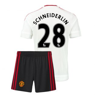 2015-16 Man Utd Away Mini Kit (Schneiderlin 28)