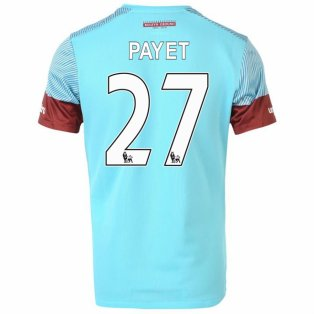 2015-16 West Ham Away Shirt (Payet 27)