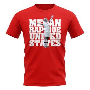 Megan Rapinoe United States-Player T-Shirt (Red)