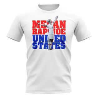 Megan Rapinoe United States-Player T-Shirt (White)