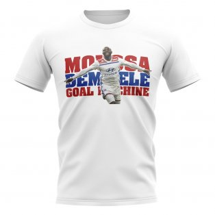 Moussa Dembele Goal Machine Player TShirt (White)
