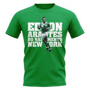 Pele Player T-Shirt (Green)