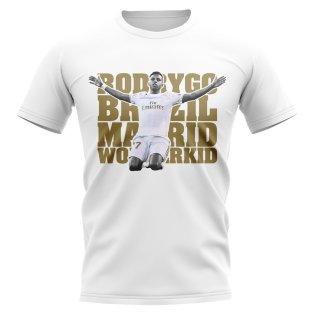 Rodrygo Wonderkid Player T-Shirt (White)