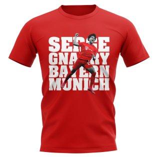 Serge Gnabry Bayern Munich T-Shirt (Red)
