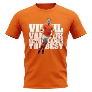 Virgil Van Dijk Netherlands Player T-Shirt (Orange)