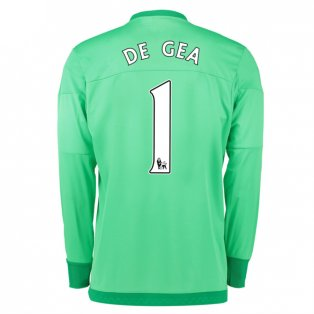 2015-16 Manchester United Goalkeeper Home Shirt (De Gea 1) - Kids