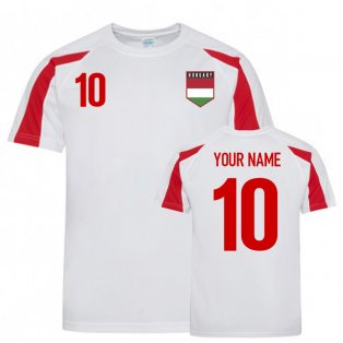 Hungary Sports Training Jersey (Your Name)