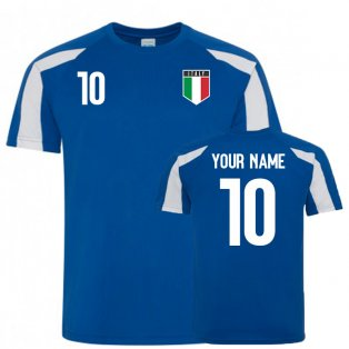 Italy Sports Training Jersey (Your Name)