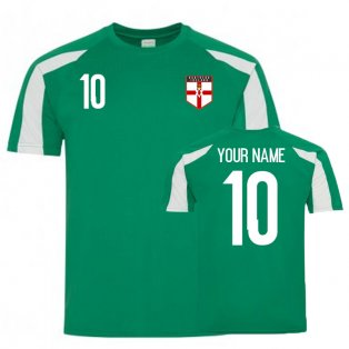 Northern Ireland Sports Training Jersey (Your Name)