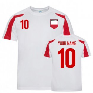 Poland Sports Training Jersey (Your Name)