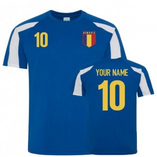 Romania Sports Training Jersey (Your Name)