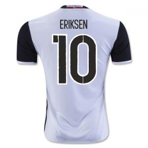 2016-2017 Denmark Away Shirt (Eriksen 10) - Kids